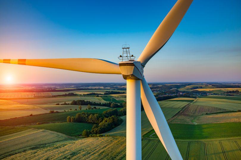 Vlaanderen in top drie groene energie uit windturbines
